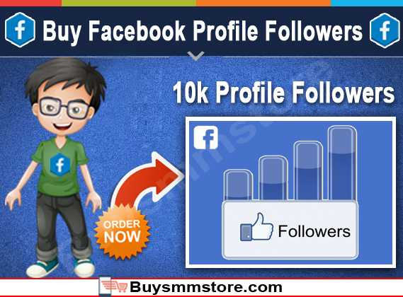 Buy Facebook Profile Followers