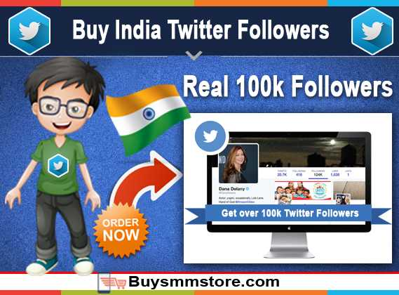Buy India Twitter Followers