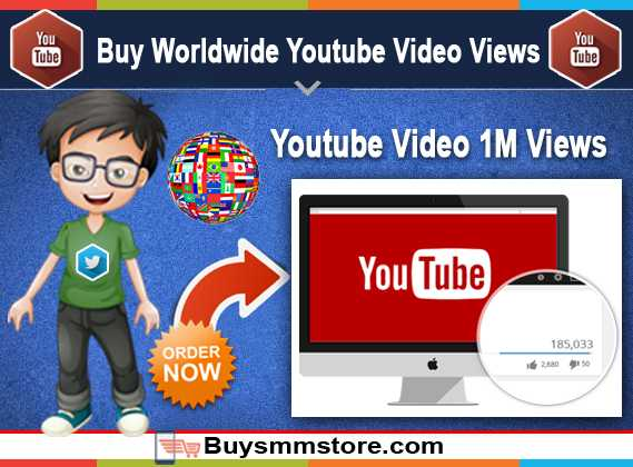 Buy Worldwide Youtube Video Views